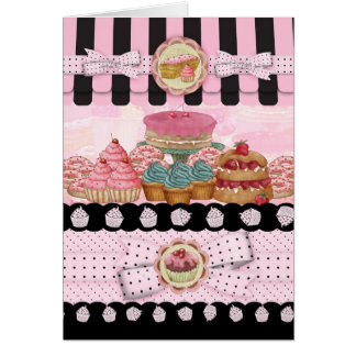 Cake Shop Birthday Greeting Card