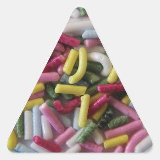cake sprinkles triangle sticker