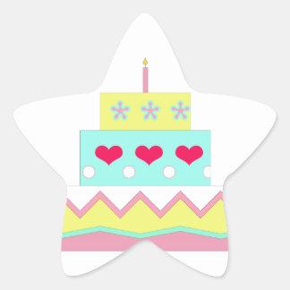 Cake! Star Sticker