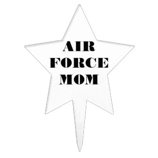 Cake Topper Air Force Mom