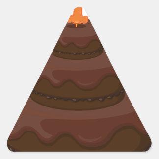 cake triangle sticker
