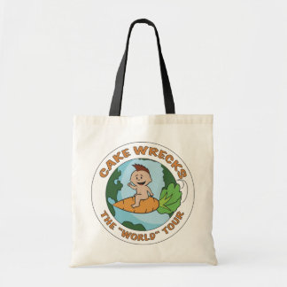 "Cake Wrecks ""World"" Tour- Budget Tote"