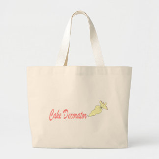 cakedecorator large tote bag