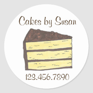 Cakes by Personalized Bakery Baking Baked Stickers