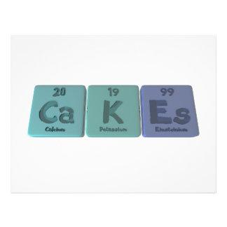 Cakes-Ca-K-Es-Calcium-Potassium-Einsteinium.png Flyer Design
