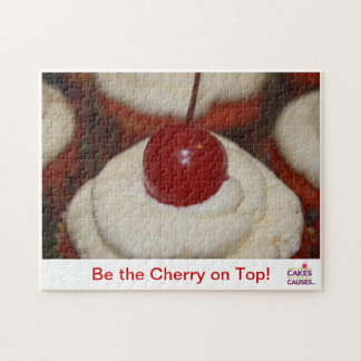 Cakes for Causes Cherry Puzzle