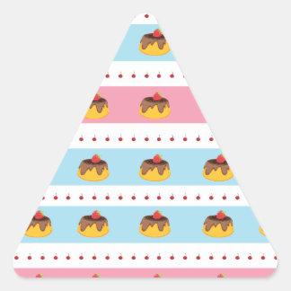 cakes triangle sticker
