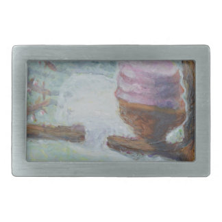 Cakes Up a Tree Rectangular Belt Buckles