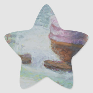 Cakes Up a Tree Star Sticker