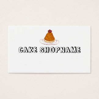 CAKESHOP BUSINESS CARD