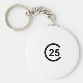 Cal 25 Sailboat Key Chain