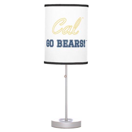 Cal Go Bears!: UC Berkeley Lamp, White Table Lamps