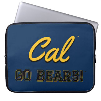 Cal Go Bears!: UC Berkeley Laptop Computer Cover Computer Sleeve