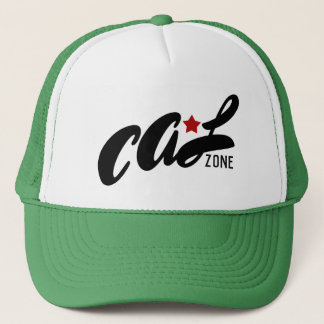 "Cal Zone ""Red Star"" Trucker Hat"