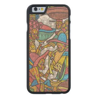 Calabash Market Carved Maple iPhone 6 Case