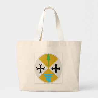 Calabria (Italy) Coat of Arms Large Tote Bag