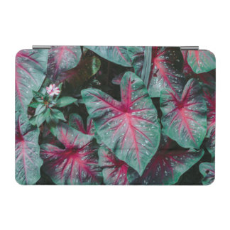 Caladium Leaf Pattern iPad Mini Cover