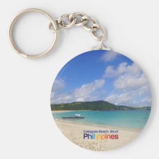 Calaguas Beach Bicol Philippines Keychain