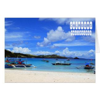 Calaguas Island Card