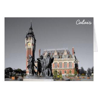 Calais, France Card