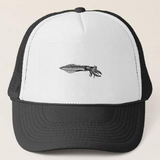 Calamari (squid) trucker hat