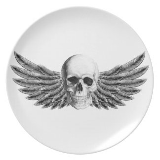 calavera1-winged plate