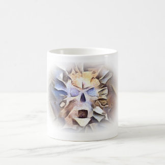 Calavera Calling out on White Coffee Mug