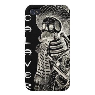 Calavera De Madero negative iphone 4/4S Case