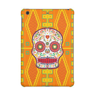 Calavera II. Day of the Dead Mexican Sugar Skull iPad Mini Retina Cover