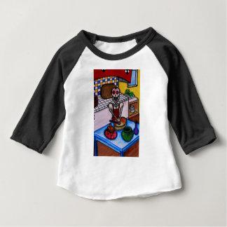 CALAVERA LA COCINERA LA JEFA PAINTING BABY T-Shirt