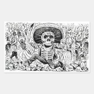 Calavera Oaxaqueña by José Guadalupe Posada 1903 Sticker