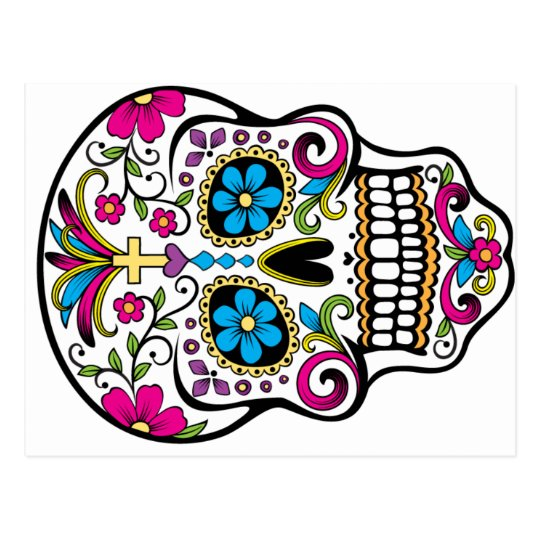 Calavera Post Card