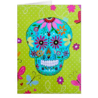 CALAVERA_SUGAR SKULL II CARD