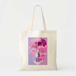 Calavera - Sugar skull Pink No1 Tote Bag
