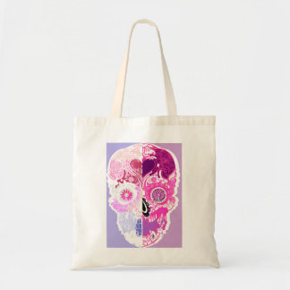 Calavera - Sugar skull Pink No2 Tote Bag