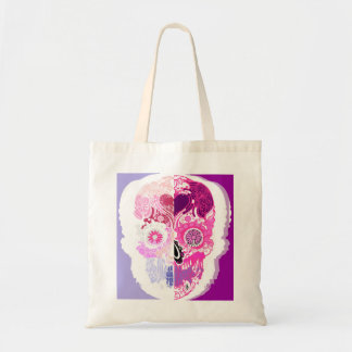 Calavera - Sugar skull Pink No3 Tote Bag