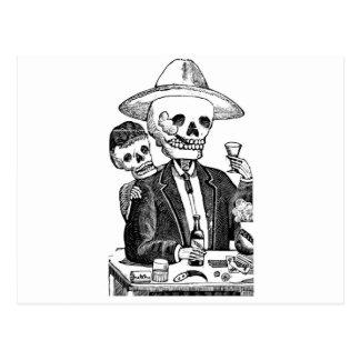 Calaveras from Guadalajara, Mexico Postcard