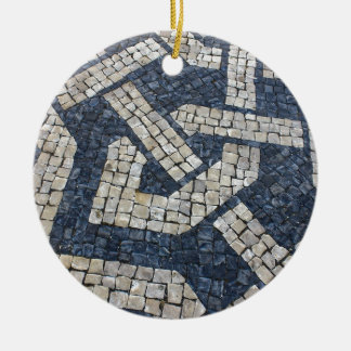 Calcada Portuguese, Portuguese Pavement Ceramic Ornament