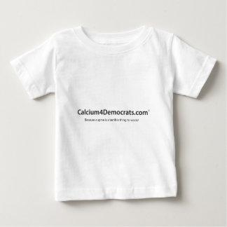 Calcium for Democrats Baby T-Shirt