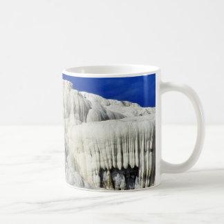 Calcium Mammoth Hot Springs Coffee Mug