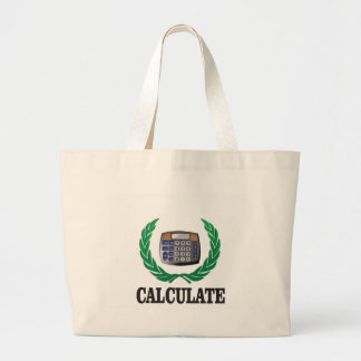calculate the fern large tote bag