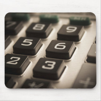 """Calculator Close-Up"" Mouse Pad"