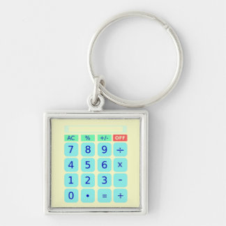 Calculator Keychain