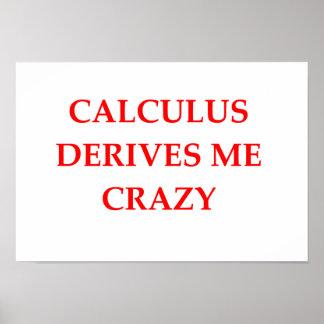 calculus poster