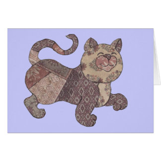 calcutta calico cat card