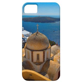 Caldera Church in Santorini Greece iPhone 5 Covers