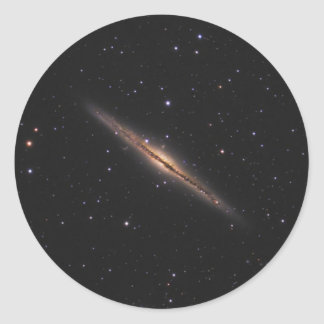 Caldwell 23 NASA spiral galaxy Classic Round Sticker