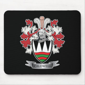 Caldwell Family Crest Coat of Arms Mouse Pad