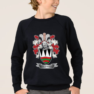 Caldwell Family Crest Coat of Arms Sweatshirt