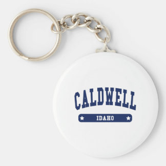 Caldwell Idaho College Style t shirts Keychain